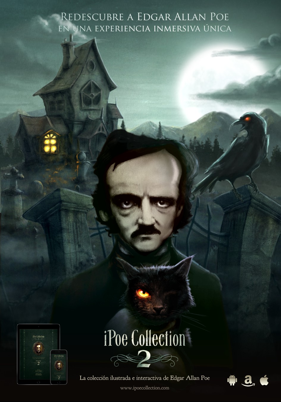 iPoe collection vol2: El Cuervo, El Gato Negro y Hop-Frog