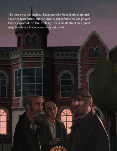 iDoyle: The adventures of Sherlock Holmes. A Scandal in Bohemia.