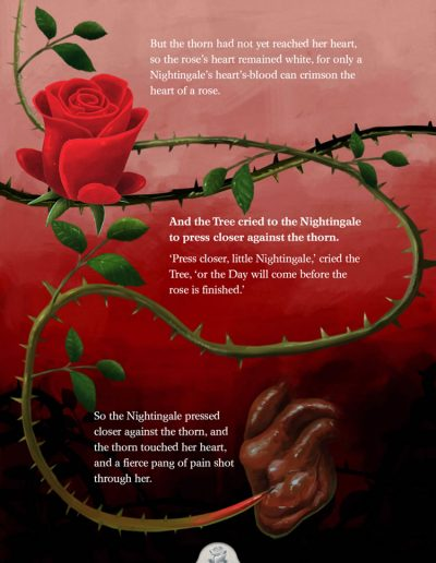The Nightingale and the Rose. Oscar Wilde.