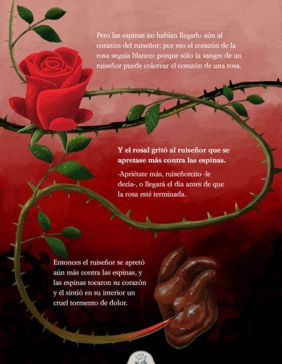 El ruiseñor y la rosa. Oscar Wilde.