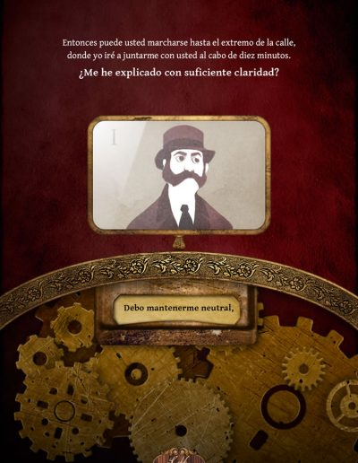 iDoyle: Las aventuras de Sherlock Holmes. Escándalo en Bohemia.