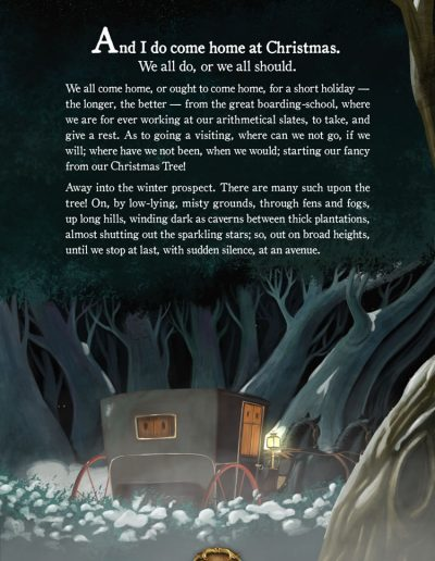 Christmas Ghost. Charles Dickens.