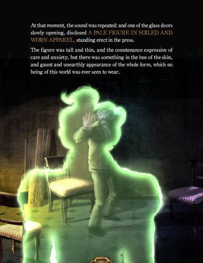 The Lawyer and the Ghost. Charles Dickens.
