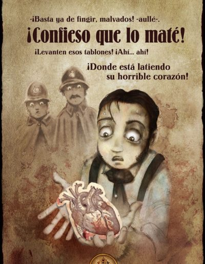 El corazón delator - Edgar Allan Poe