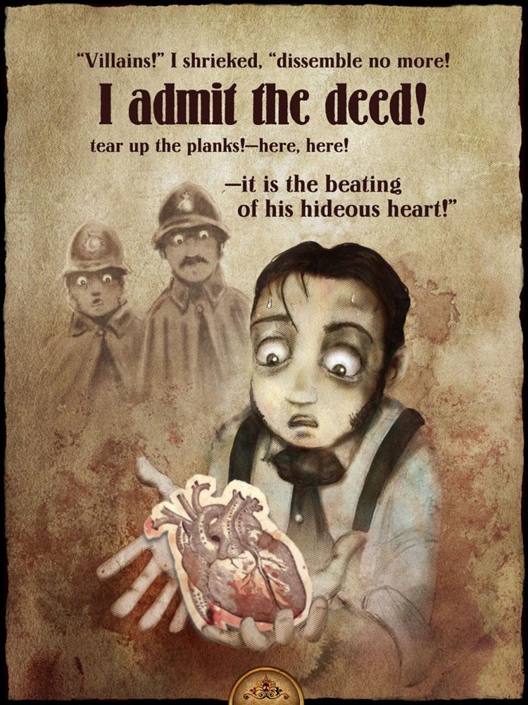 """edgar allan poe the tell tale heart essays """"the tell-tale heart,"""" by edgar allen poe, is a gothic fiction story  the tell- tale heart essay - the tell-tale heart, edgar allan poe."""