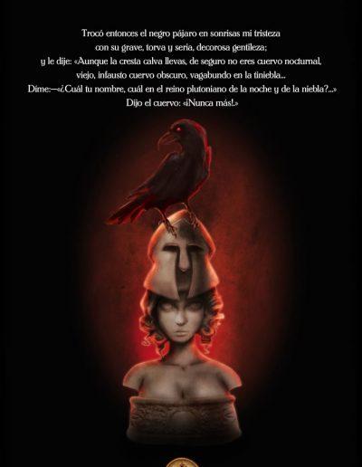 El Cuervo. Edgar Allan Poe.