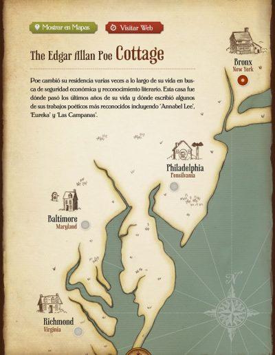 iPoe vol2. La ruta de Edgar Allan Poe.