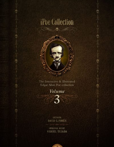 iPoe vol3. The illustrated and interactive Edgar Allan Poe collection
