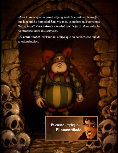 El Barril de Amontillado. Edgar Allan Poe