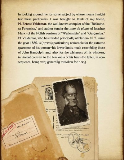 The Facts in the Case of M. Valdemar. Edgar Allan Poe.