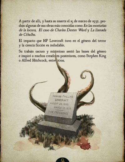 H.P. Lovecraft - Biografía