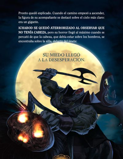 La leyenda de Sleepy Hollow. Washington Irving.
