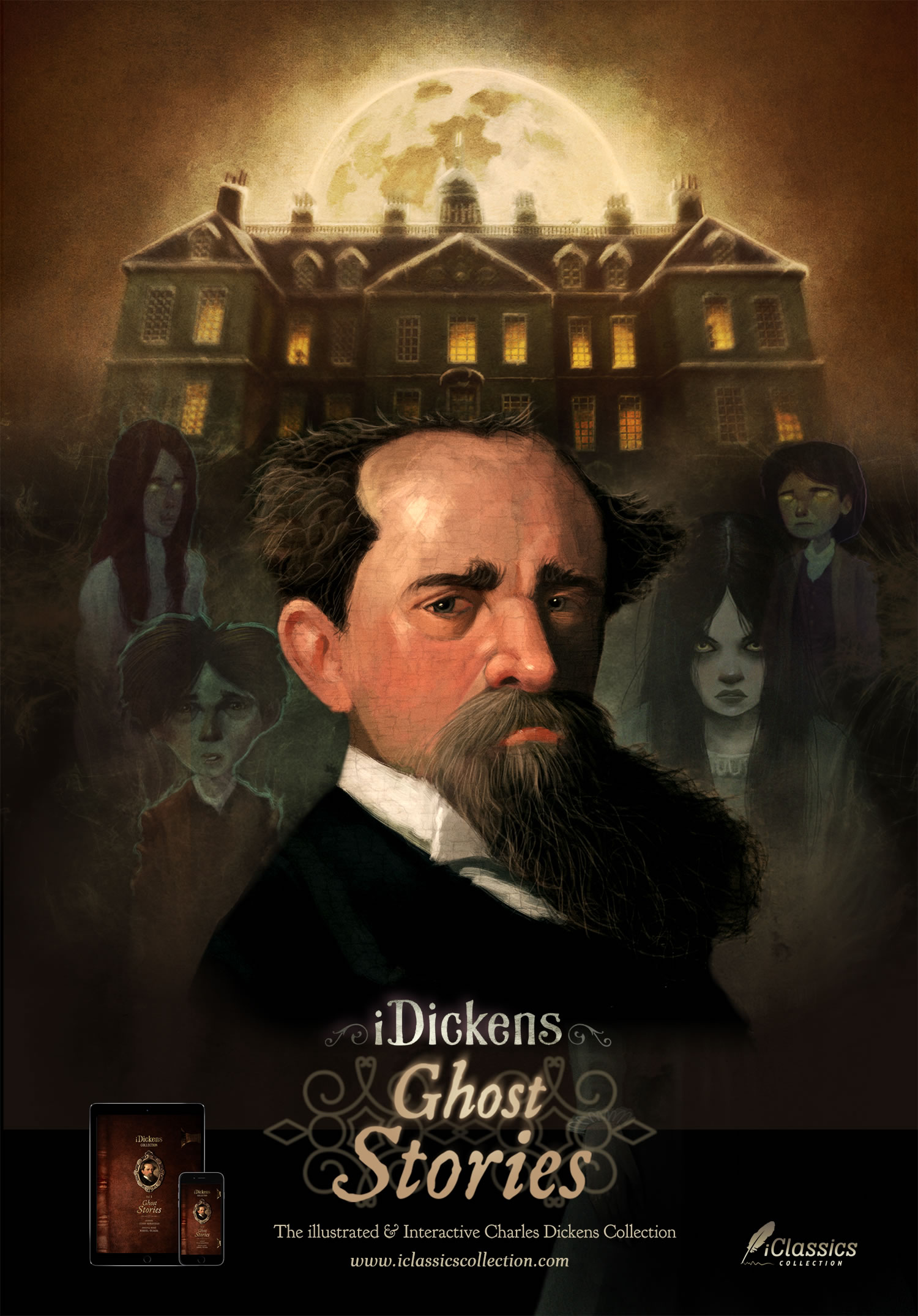 iDickens: Ghost Stories. The illustrated and interactive Charles Dickens collection
