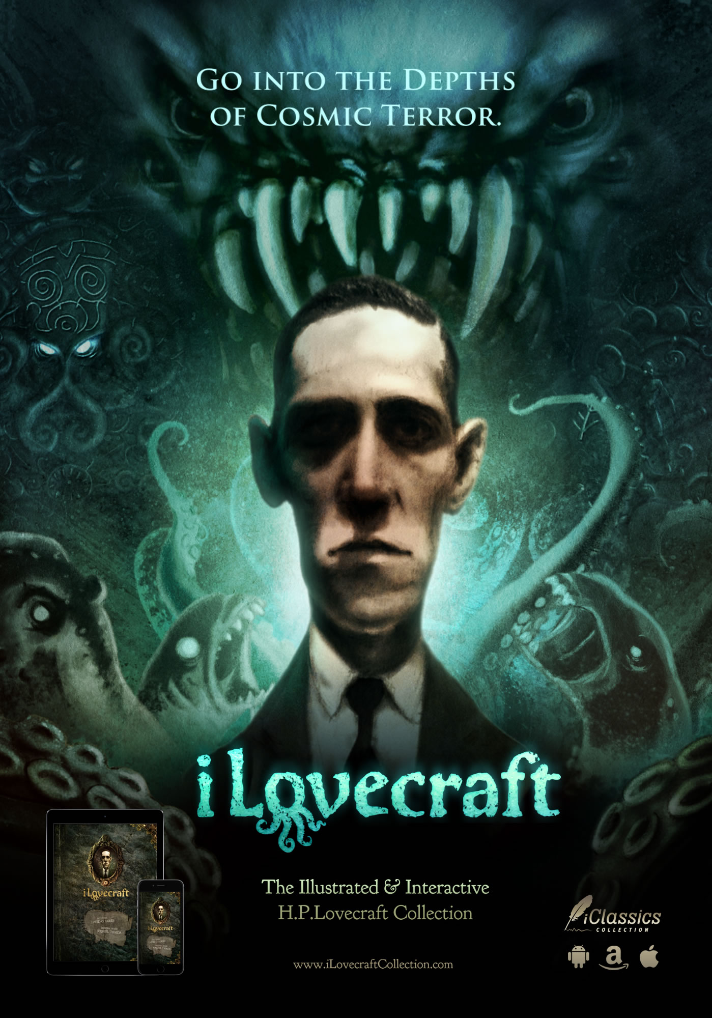 iLovecraft: The illustrated and interactive H.P. Lovecraft collection