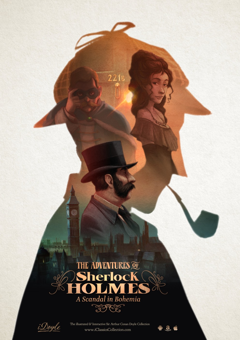 iDoyle: The interactive adventures of Sherlock Holmes by iClassics