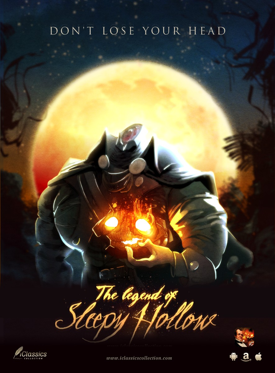 The interactive Legend of Sleepy Hollow. iClassics collection.