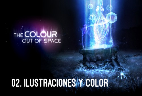 HP Lovecraft - El Color que cayó del Cielo Ilustraciones y color