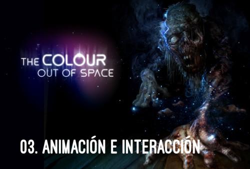 HP Lovecraft - El Color que cayó del Cielo Animación e interacción