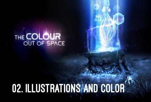 HP Lovecraft - The Colour Out of Space - Illustrations and Colour