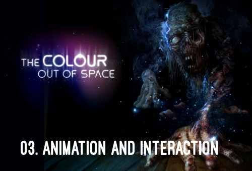 HP Lovecraft - The Colour Out of Space - Animation and Interaction