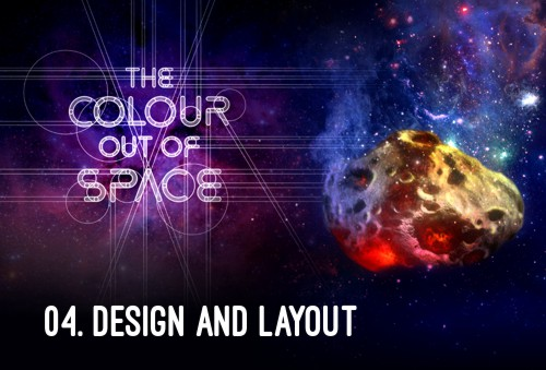 HP Lovecraft - The Colour Out of Space - Design and Layout