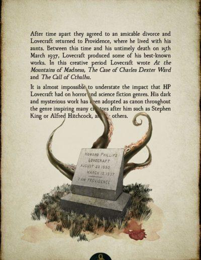 H.P. Lovecraft - Biography