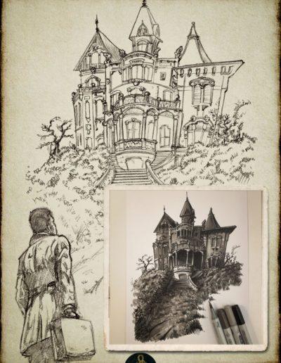 H.P. Lovecraft - Sketchbook