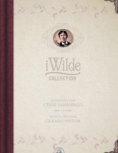 iWilde: La colección ilustrada e interactiva de Oscar Wilde.