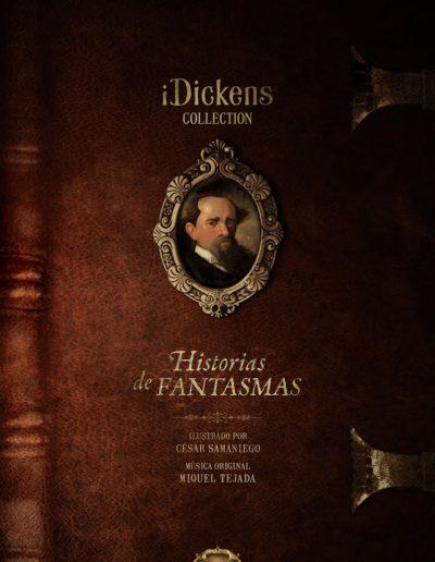 iDickens, Historias de Fantasmas: La colección ilustrada e interactiva de Charles Dickens.