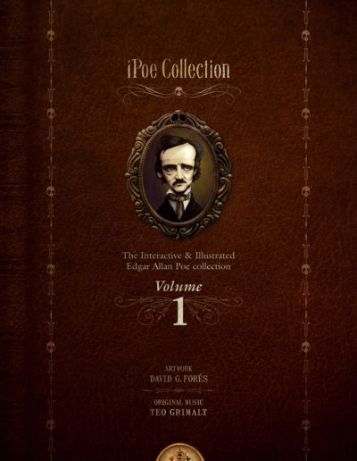 iPoe vol 1 - The illustrated and interactive Edgar Allan Poe collection app