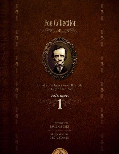 iPoe vol.1: La colección ilustrada e interactiva de Edgar Allan Poe
