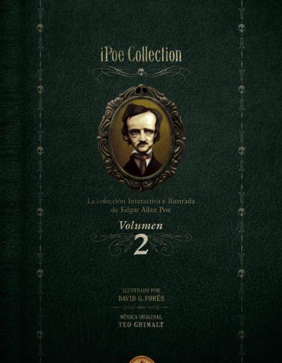 iPoe vol2. La colección ilustrada e interactiva de Edgar Allan Poe.