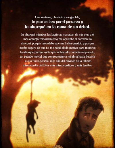 El Gato Negro. Edgar Allan Poe.