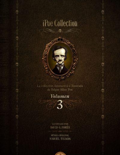 iPoe vol3. La colección ilustrada e interactiva de Edgar Allan Poe