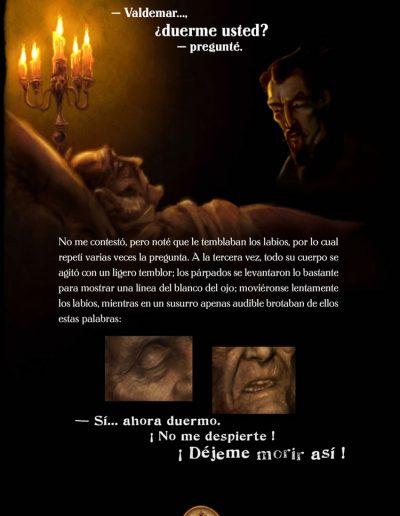 El extraño caso del Señor Valdemar. Edgar Allan Poe
