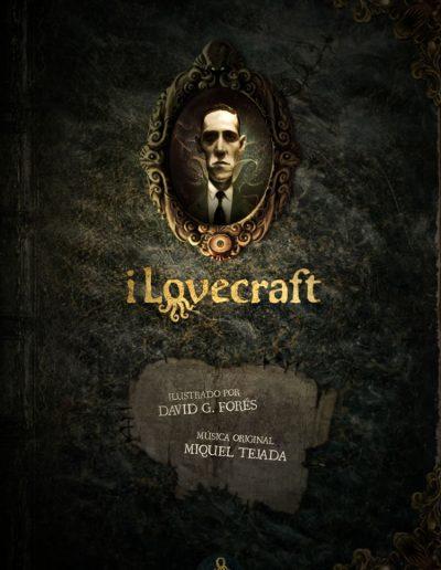 iLovecraft - la colección ilustrada e interactiva de H.P.Lovecraft (portada)