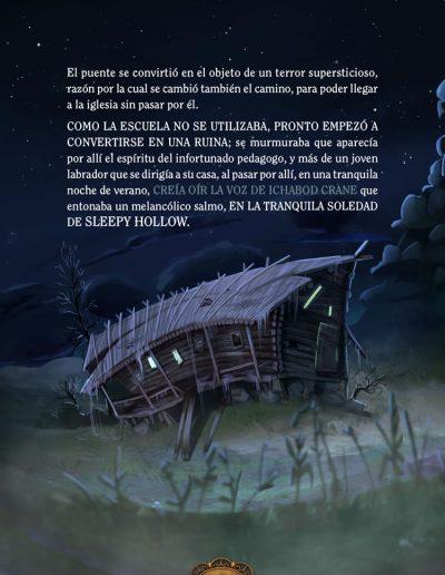 La leyenda de Sleepy Hollow. Washington Irving.