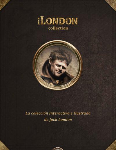 iLondon: La colección ilustrada e interactiva de Jack London.